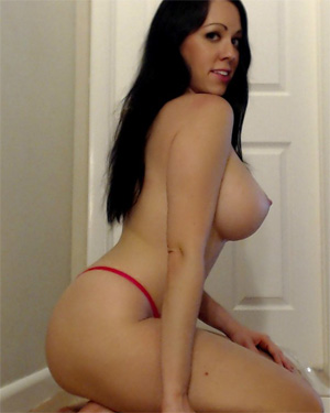 Kayla Kiss Red Lingerie Beauty