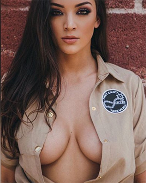 Kelsi Shay is looking busty and wet for playboy
