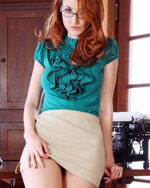 Kendra Seductive Redhead Secretary