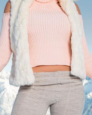 Khloe Terae Ski Bunny Playboy