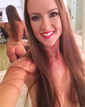 Krista Lynn Sexy Brunette Playmate