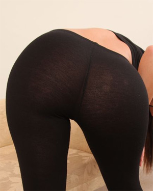 Kristina See Thru Leggings Ass