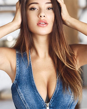 Kristina Busty Russian Babe