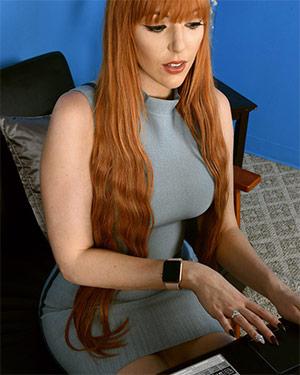Lauren Phillips Tight Dress