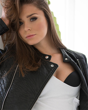 Lily Chey Bad Girl In Leather