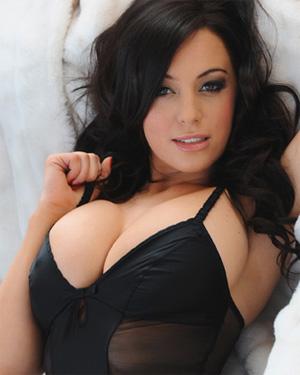 Lindsey Strutt Black Bra