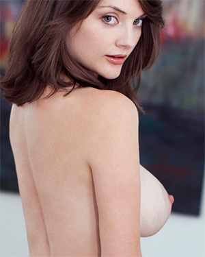 Lisa Kate Busty Brunette Playmate