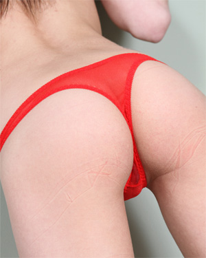Fuckable Lola Sexy Red Panties