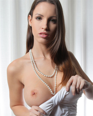 Luciana Tight White Dress