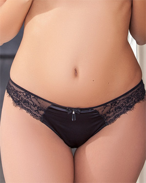Luna Sauvage Black Panties