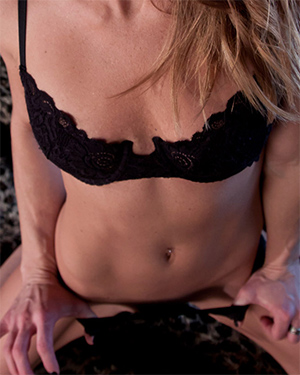 Meet Madden Black Bra and Panties