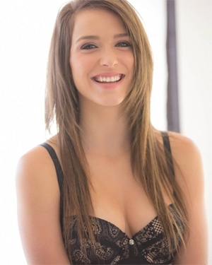 Malena Morgan Smiling Beauty