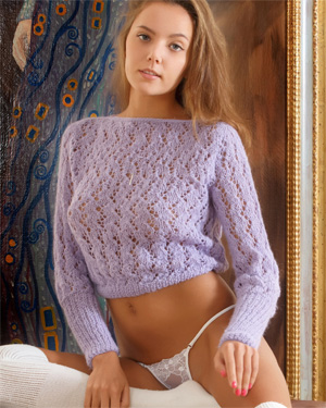 Mango Sweater and Thong