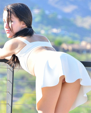 Meagan FTV Little White Dress