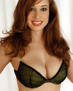 Megan Elizabeth Busty Redhead Playboy