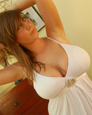 Milena Tight White Dress