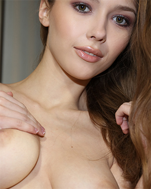 Mila Azul Spreading On Bed Watch4Beauty