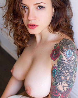 Mille Perfect Tits Suicidegirls