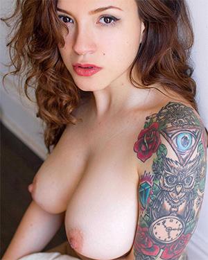 Mille Perfect Tits Suicidegirls