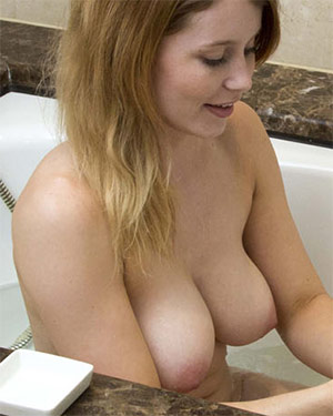 Misty Day Steamy Nude Bath