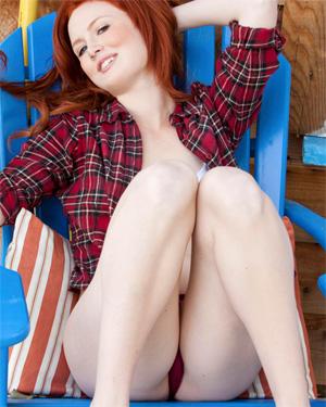 Molly Shaw Sexy Redhead