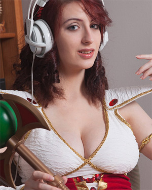Moniqa Lefevre Busty Cosplay