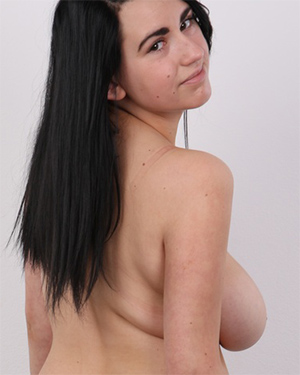 Natalie Busty Beauty Czech Casting