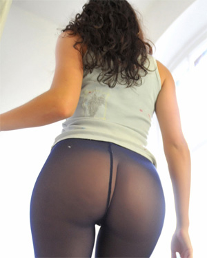 Nicole Rocco Blue Tights