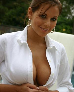 Nicole Graves Poolside