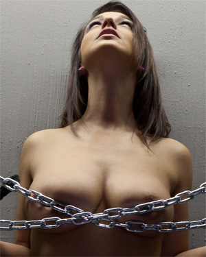Nikki Sims Chained