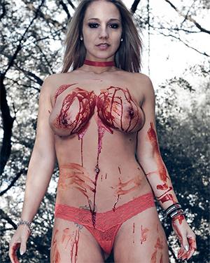 Nikki Sims Happy Halloween 2016