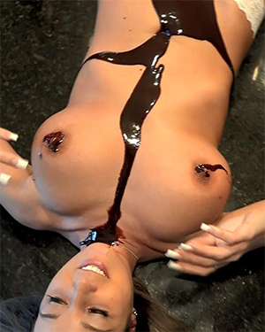 Nikki Sims Chocolate Tits Video