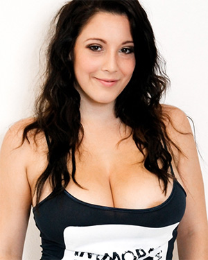 Noelle Easton wears just a tank top