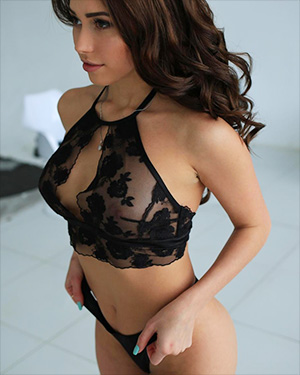 Nyusha Black Lingerie for StasyQ