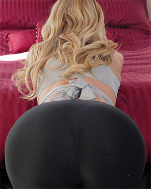Olivia Austin Hot In Yoga Pants