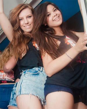 British Party Girls Go Wild