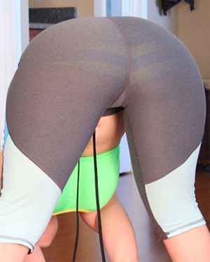 Pattycake More Yoga Pants Booty