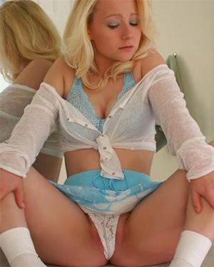 Sexy Pattycake upskirt panties