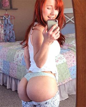 Sexy Pattycake Mirror Selfies