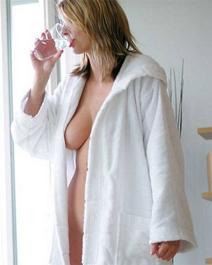 Penny Bath Robe Lady