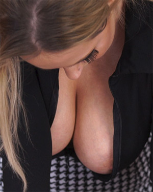 Rachael C Office Boobs