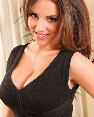 Rachel Williams Loves Wearing A Cleavage Dress