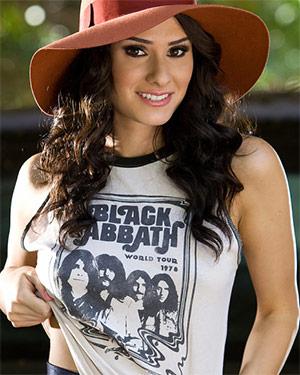 Raquel Robin Cute Perky Playmate