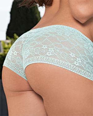 Rebecca Lynn Lace Panties Playboy