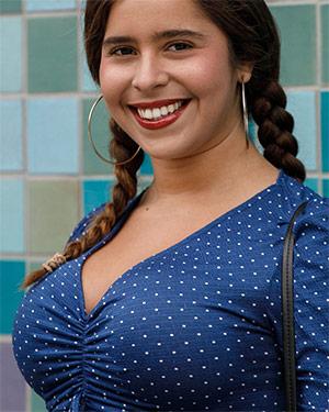 Sabrina Reyes Busty Dress Bae Zishy