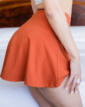 Samia Duarte Sexy Skirt