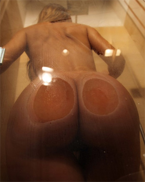 Perfect Shower Ass