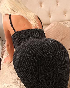 Stacey Robyn Tight Black Dress