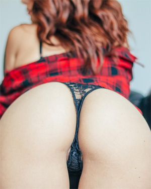 Steeh Lace Panties Suicidegirl