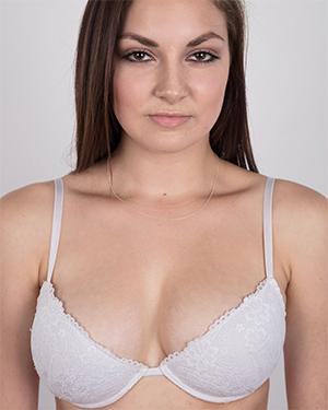 Tereza Cute Perky Brunette Czech Casting